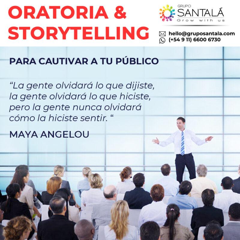 Oratoria, Storytelling